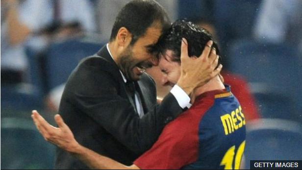 No se puede negar que Guardiola contó con la suerte de tener un grupo de futbolistas excepcionales en el Barcelona, como tampoco su influencia en ellos.