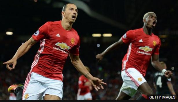 Mourinho elogió la espectacular temporada de Ibrahimovic y aseguró que Pogba triunfará en Manchester.