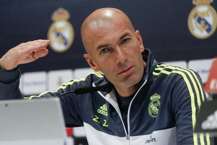 Zidane asegura que el colombiano está en condiciones de jugar al futbol. (Foto Prensa Libre: EFE)