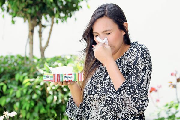 La rinitis afecta a muchas personas ante los constantes cambios de clima. (Foto Prensa Libre, Edwin Castro)