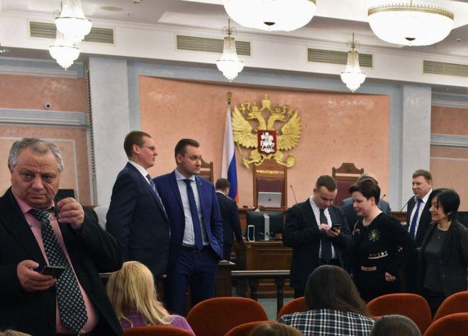 Fue el Ministerio de Justicia ruso el que presentó la demanda contra los Testigos de Jehová ante la Corte Suprema. GETTY IMAGES