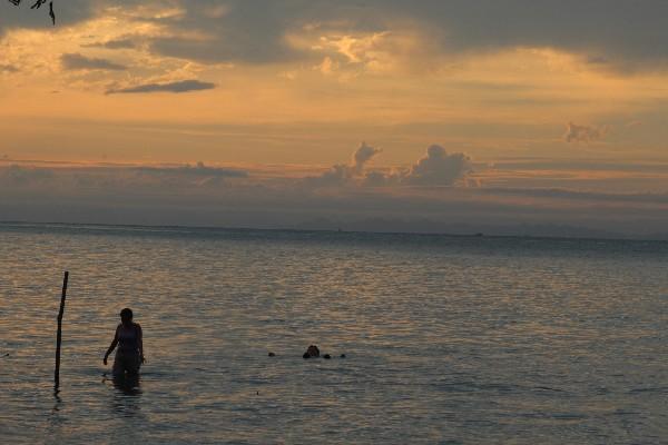 Bahía de Amatique, donde ocurrió el hecho.