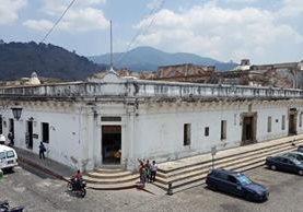 Vista del Palacio Arzobispal, ubicado a un costado de la Catedral de Antigua Guatemala. (Foto Prensa Libre: Julio Sicán)