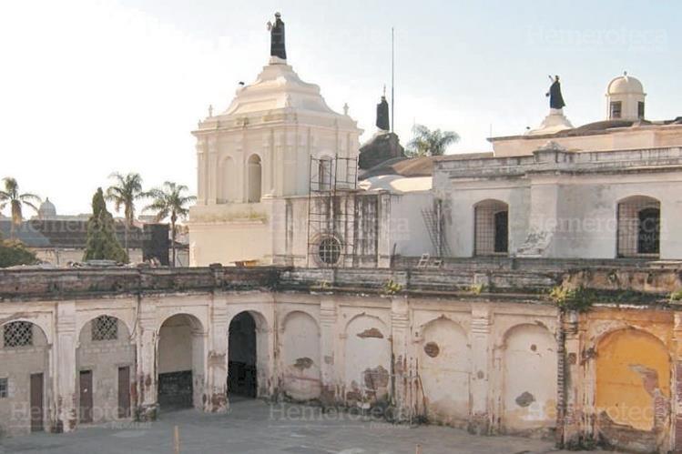 Reconstrucción de las antiguas instalaciones del convento de Santo Domingo. (Foto: Hemeroteca PL)
