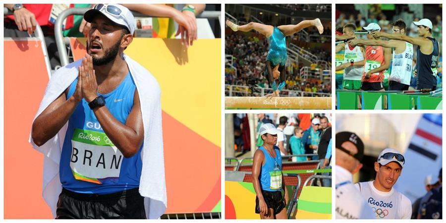 Veintiún deportistas participaron en las justas brasileñas de Río 2016 (Foto Prensa Libre: Jenniffer Gómez)