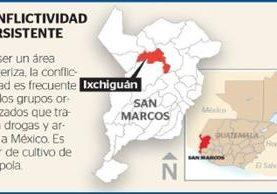 Los tres trabajadores llevan retenidos 39 días en Ixchiguán, San Marcos. (Foto Prensa Libre)