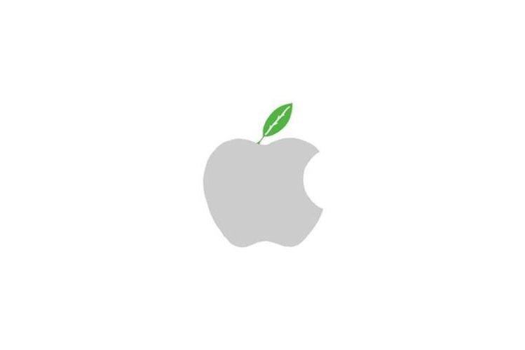 El reconocido logo de Apple se ve ligeramente modificado para la campaña que la empresa lanzó en conmemoración al Día de la Tierra. (Foto Prensa Libre: YouTube)