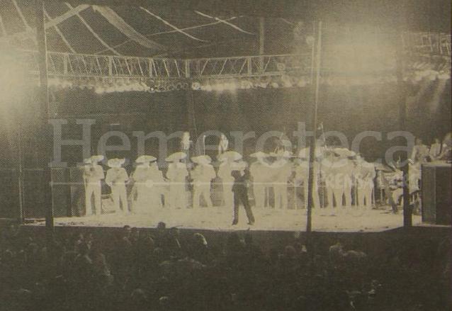 Concierto de Juan Gabriel en diciembre de 1992 en Guatemala. (Foto: Hemeroteca PL)