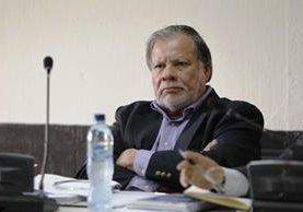 Rubén Morales fue presidente del Congreso en el 2007. (Foto Prensa Libre: Paulo Raquec)