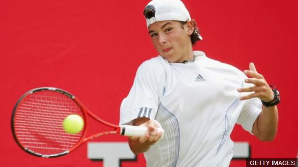 Dimitrov llamó la atención cuando ganó los abiertos junior de Estados Unidos y Wimbledon. (Foto Prensa Libre: BBC Mundo)