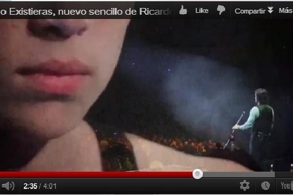 <p>El video de Si tu no existieras de Ricardo Arjona fue de los más vistos en Prensa Libre. (Foto Prensa Libre: Archivo)<br></p>
