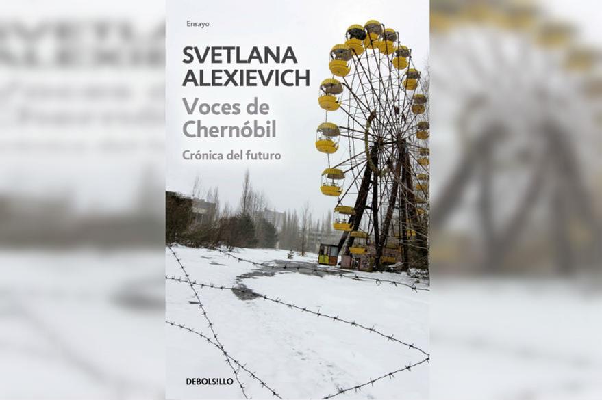 Portada del libro Voces de Chernóbil de Svetlana Alexiévich. (Foto Prensa Libre: Hemeroteca PL)