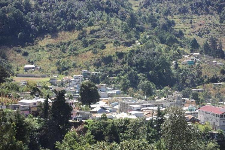 Cabecera municipal de San Sebastián Coatán, Huehuetenango. (Foto Prensa Libre: Josué García).