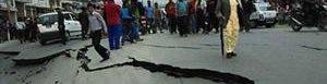 Fuerte sismo en Nepal.