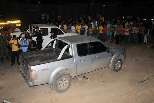<p>El picop fue dejado en el trecho conocido como <em>La Vuelta Al Estadio.</em> (Foto Prensa Libre: Carlos Paredes)<br></p>