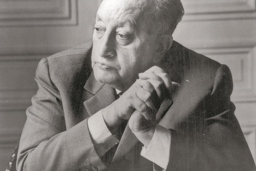 Miguel Ángel Asturias, Nobel de Literatura 1967, estuvo en París. (Foto: Hemeroteca PL)