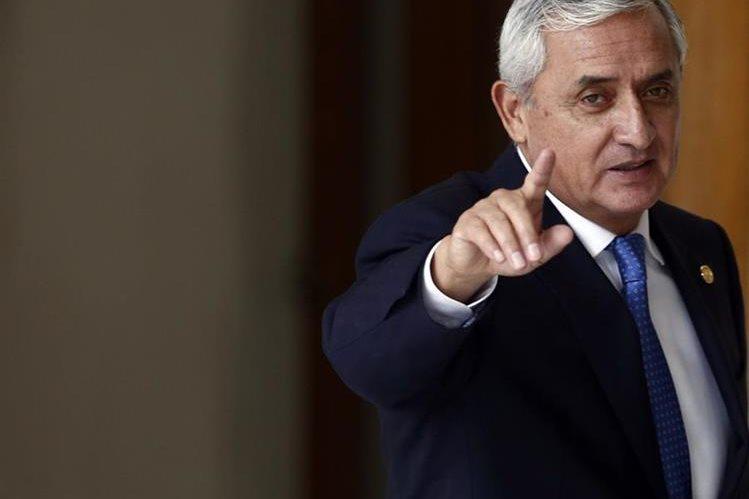 Pérez Molina también fue jefe del desaparecido Estado Mayor Presidencial durante el gobierno de Ramiro de León Carpio. (Foto Prensa Libre: Hemeroteca PL)
