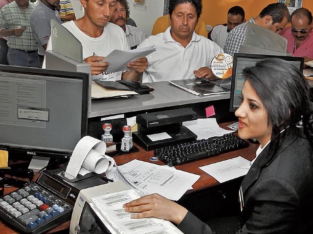 La exoneración de multas, recargos e intereses favoreció a muchos contribuyentes que tenían juicios por adeudos tributarios. (Foto Prensa Libre: Hemeroteca)