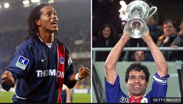 Ronaldinho y Raí también llegaron al PSG en la víspera del mundial, y los dos levantaron el título al año siguiente.