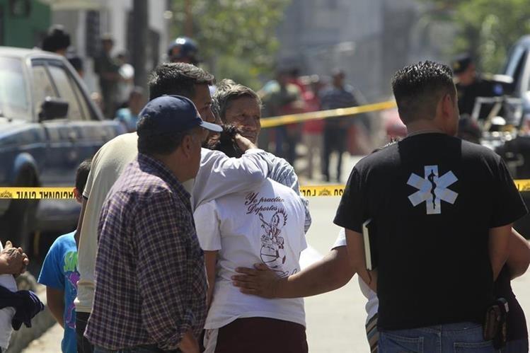 Ataques a comerciantes a causa de extorsiones mantienen en vilo a la población. (Foto Prensa Libre: Hemeroteca PL)