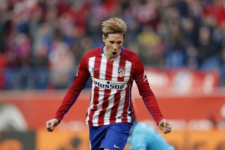 Fernando Torres continuará un año más en el Atlético de Madrid. (Foto Hemeroteca PL).