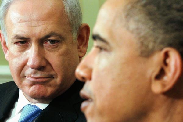 El presidente Barack Obama se reúne con el primer ministro Benjamin Netanyahu de Israel en la Casa Blanca en 20 de mayo 2011. (Foto Prensa Libre:AP)