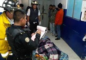 Nonagenaria que fue golpeada por delincuentes fallece luego de haber sido ingresada en el Hospital Nacional de Jalapa. (Foto Prensa Libre: Hugo Oliva)