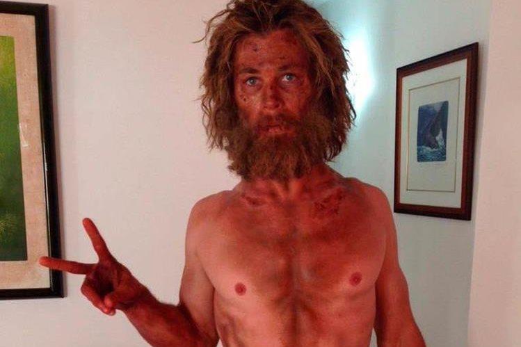 El actor Chris Hemsworth se transformó en un hombre de mar en la película En el corazón del mar. (Foto Prensa Libre: Hemeroteca PL)