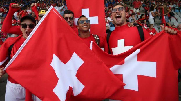 Los suizos también se hacen llamar helvéticos, una referencia a la tribu de los helvecios que estaban asentados en el lugar antes de la conquista de los romanos.GETTY IMAGES