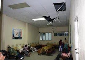 Vista del hospital de San Marcos. (Foto Prensa Libre: Whitmer Barrera)