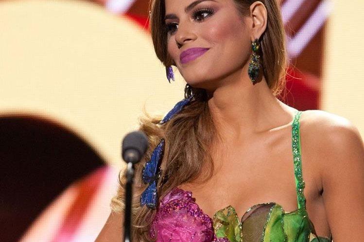 Ariadna Gutiérrez-Arevalo, representante de Colombia, es una de las favoritas para ganar el cetro de Miss Universo. (Foto Prensa Libre, EFE)