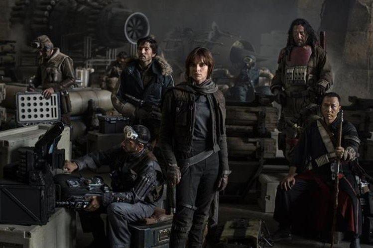El estreno de la película Rogue One ha causado revuelo entre los seguidores de la saga de Star Wars. (Foto Prensa Libre: Disney)