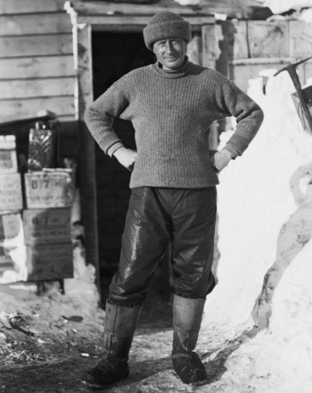 Edward Wilson murió junto a Robert Falcon cuando regresaban del Polo Sur. MUSEO DE CANTERBURY