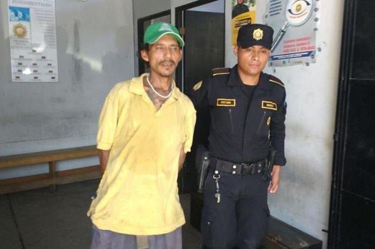 William Alberto Campos es sindicado de robo, en Chiquimula. (Foto Prensa Libre: Edwin Paxtor).