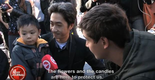 Un niño explica los ataques a París. (Foto Prensa Libre: YouTube)