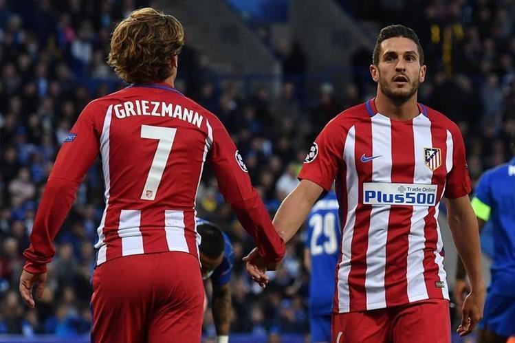 Koke asegura que las fortalezas del Atlético de Madrid es creer y el trabajo fuerte. (Foto Prensa Libre: AFP)