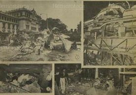 Ataques terroristas con explosivos que causaron zozobra años atrás en la capital.
