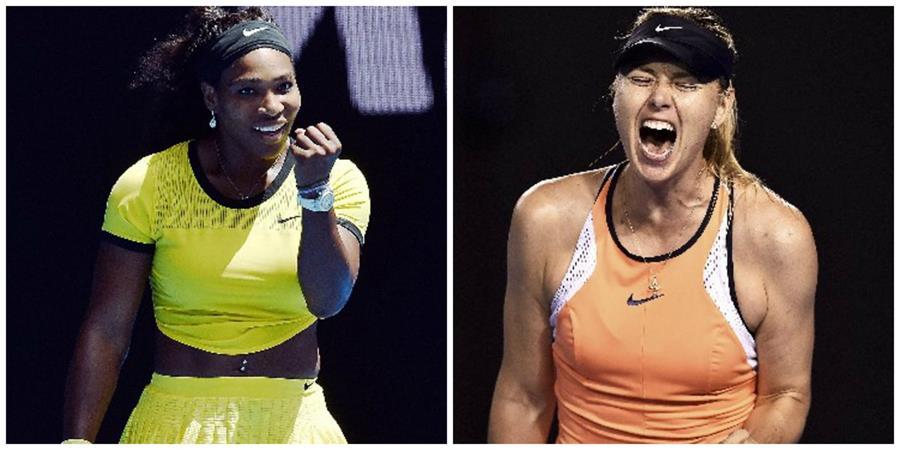 Serena y Maria jugarán en Australia. (Foto Prensa Libre: EFE)
