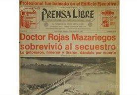 Portada de Prensa Libre del 15/3/1980 informa sobre la inauguración del puente sobre el Río Dulce, Izabal. (Foto: Hemeroteca PL)