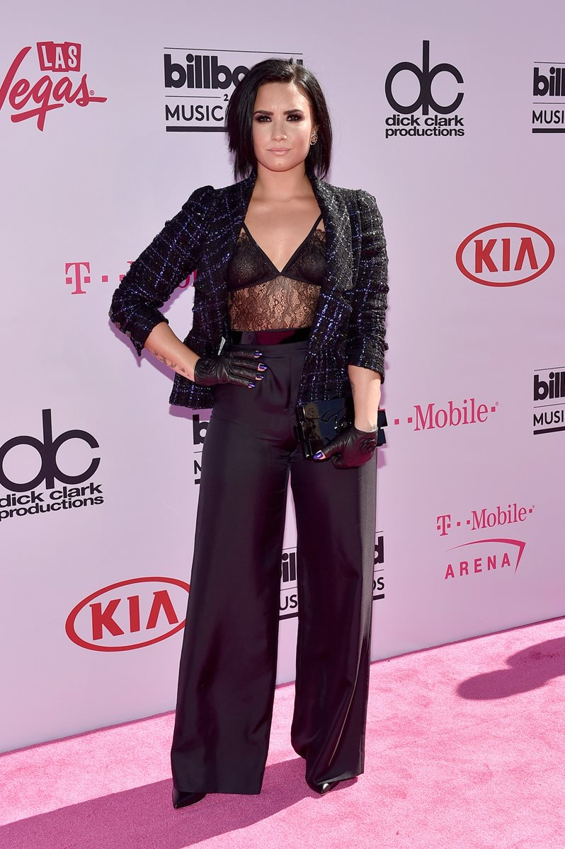 La actriz y cantante Demi Lovato