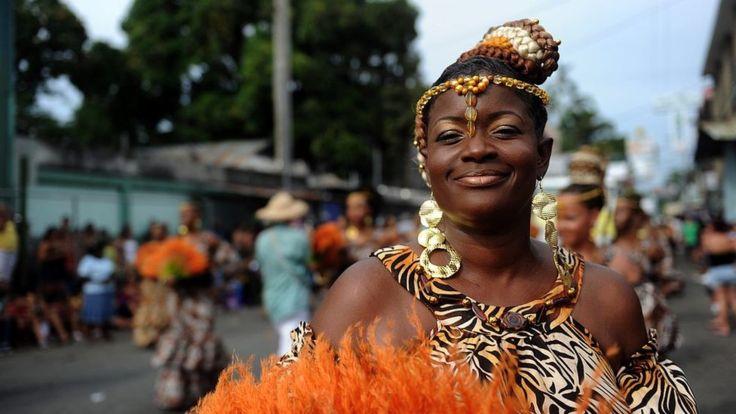 La mayoría de la población tica de origen africano se concentra en la zona del Atlántico. AFP