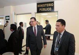 El Centro Integrado de Justicia contará con personal de distintas instituciones.(Foto Prensa Libre: Eduardo Sam)