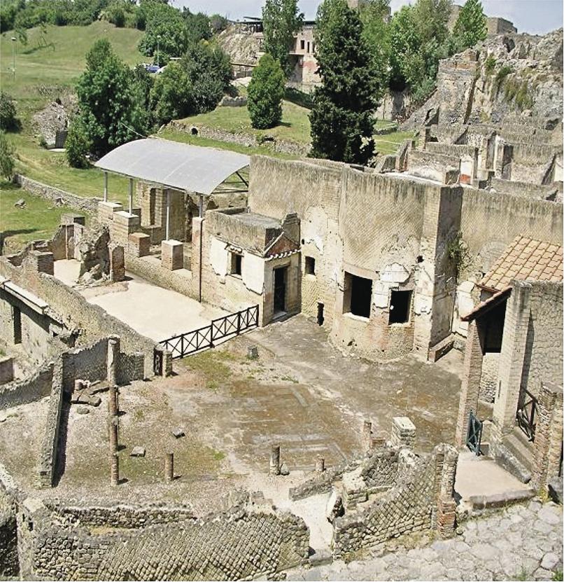 Restos de Pompeya, con más de dos mil 600 años de antigüedad. (Foto: Hemeroteca PL)