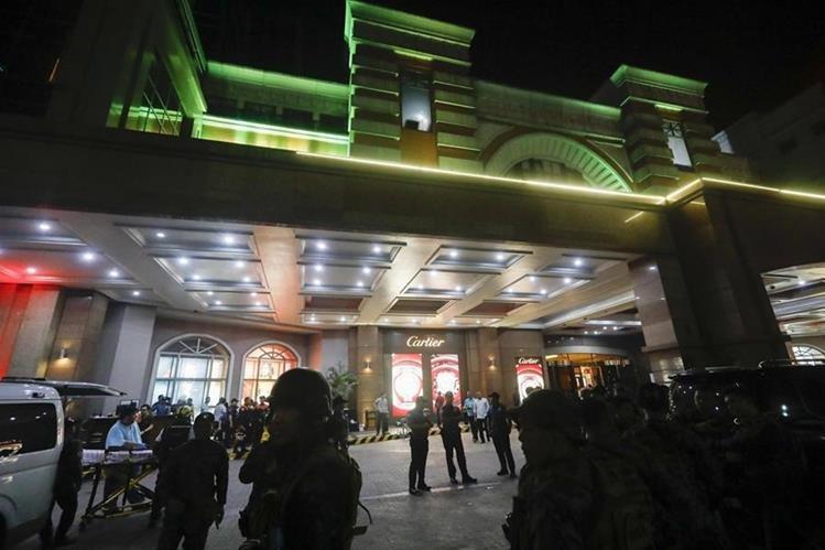 Hallaron 34 muertos tras ataque en hotel de lujo — Filipinas