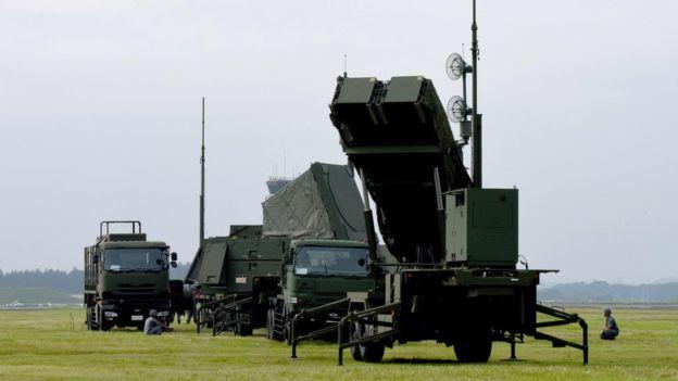 Japón tiene desplegado en su territorio un sistema de defensa antimisiles Patriot. AFP