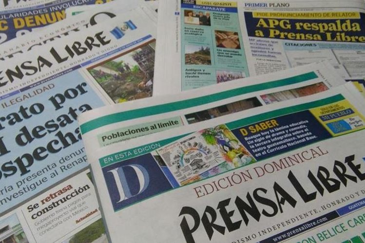 La Sociedad Interamericana de Prensa respaldó a Prensa Libre y pidió que se respete el secreto profesional. (Foto Prensa Libre: Mynor Toc)