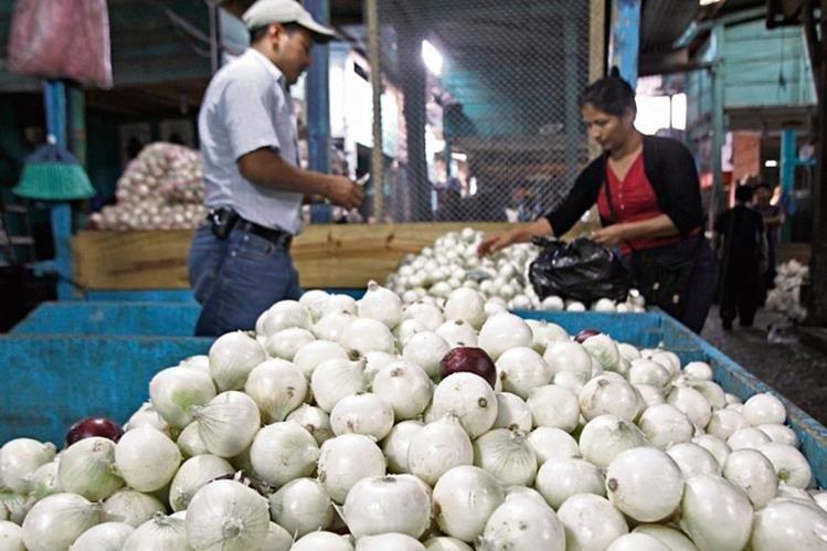la producción de cebolla nacional y la importación de esa legumbre de México ha disminuido en las últimas semanas.