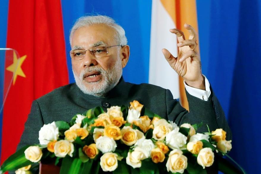 Primer ministro de la India, Narendra Modi.