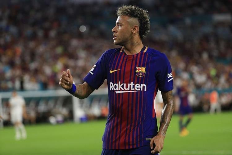 El Barcelona espera contar con Neymar para la siguiente temporada. (Foto Prensa Libre: AFP)