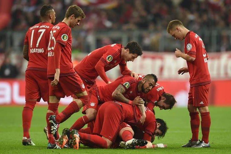 El Bayern Munich cerrará el año con una visita al Hannover 96 este fin de semana. (Foto Prensea Libre: AFP)